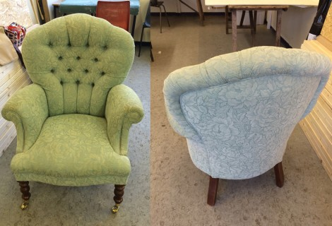 Great chair – but not for our new lounge
