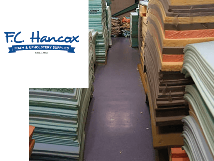FC Hancox Foam and Upholstery Supplies