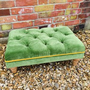 Tcc Green Footstool 2